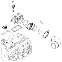 '07.5-'18 Dodge Cummins Intake Horn Gasket