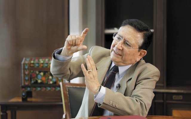 Ovalle ha sido embajador dos veces, director de la Conasupo y fue funcionario con el presidente Luis Echeverría. Foto: Especial