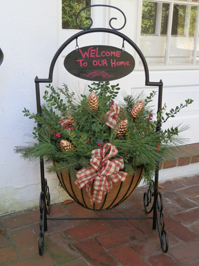 Welcome Planter Welcome Planter