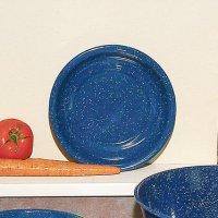 Royal Blue Enamelware Cereal Bowl, Dinnerware - Lehman's