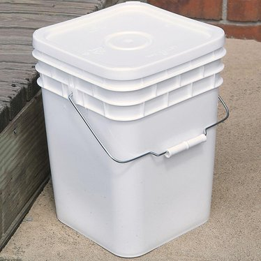 4 Gallon Plastic Buckets With Lids 10 Pack Storage And