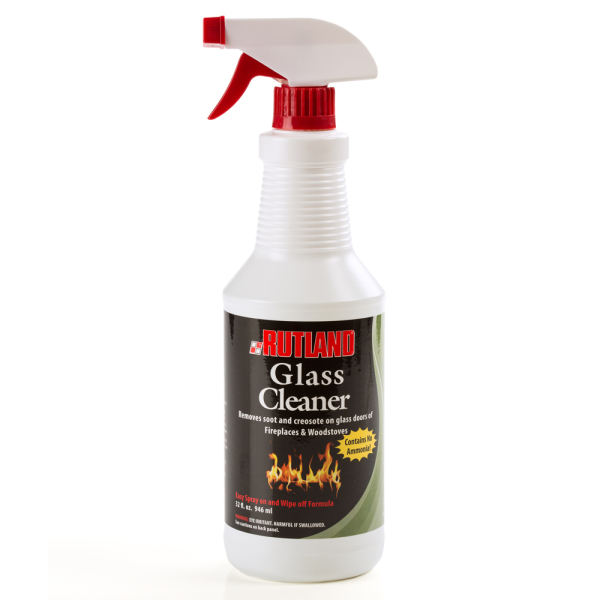 Rutland Fireplace Glass Cleaner Hearth Accessories  Lehmans