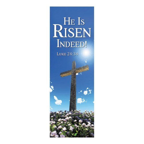 Worship Banners Easter Lenten X-stand