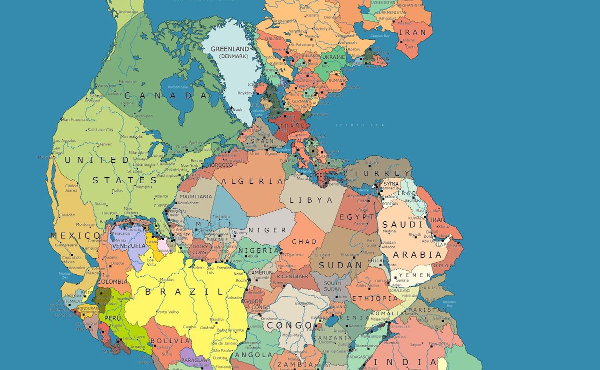 What Did Pangea The Ancient Supercontinent Really Looked