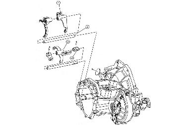 T-850 Fork & Rail Components, 04-05 Neon SRT-4