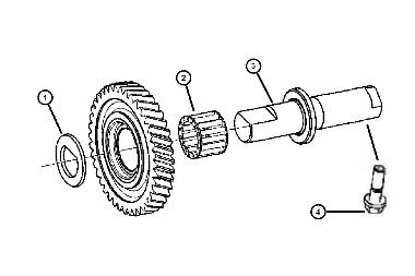 T-850 Reverse Idler Components, 04-05 Neon SRT-4