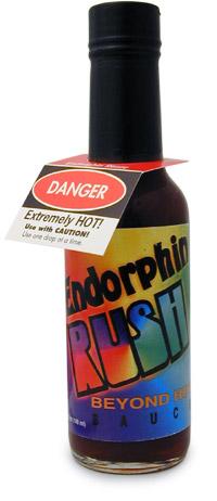 Endorphin Rush Hot Sauce Scoville : endorphin, sauce, scoville, Endorphin, Sauce