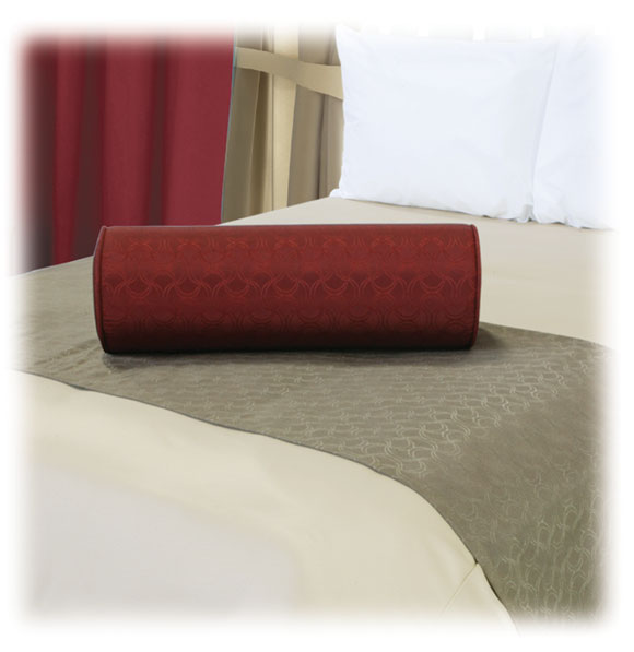 Designer Series Bed Scarves and Bolster Pillows  National Hospitality