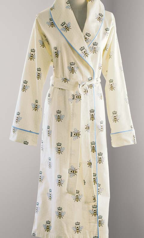 Queen Bee Robe All Gifts Olive  Cocoa