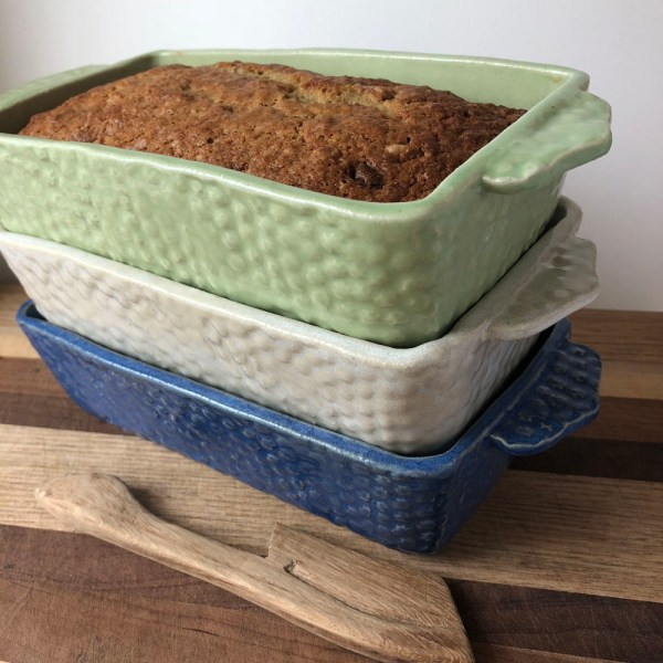 Sienna Ceramic Loaf Pan Roots & Harvest Homesteading