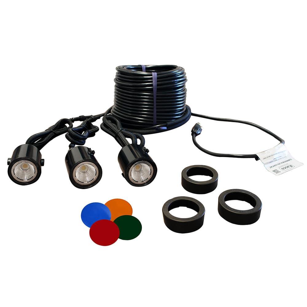 kasco composite 3 led light kit 11 watts
