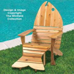 Plans For Adirondack Chair Clear Plastic Rung Protectors Furniture Fish Ottoman