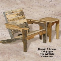 Wood Adirondack Chairs Plans Foldable Lounge Chair Big Lots Pallet Furniture Patterns And Table Plan