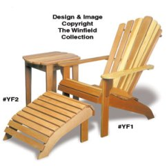 Adirondack Wooden Chair Plans Gym Aliexpress Outdoor Furniture Table Ottoman Wood