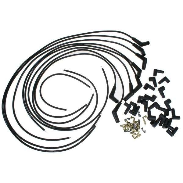 Buy Pertronix 808215 Flame Thrower 8.0 Spark Plug Wires Black