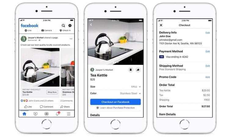 Facebook e Instagram Shopping reciben un nuevo impulso con nuevas funciones para potenciar la compra