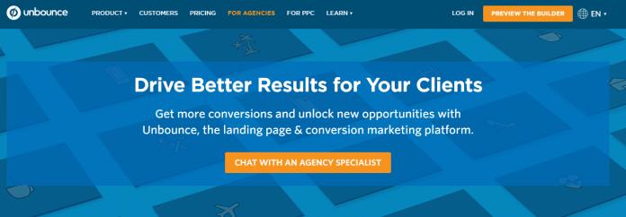 landing-page-design-unbounce-for-agencies