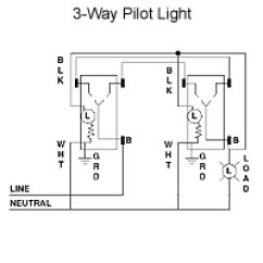 3 Way Switch With Pilot Light Diagram Rotary Wiring How To Wire Single Pole | Terry Love Plumbing & Remodel Diy ...