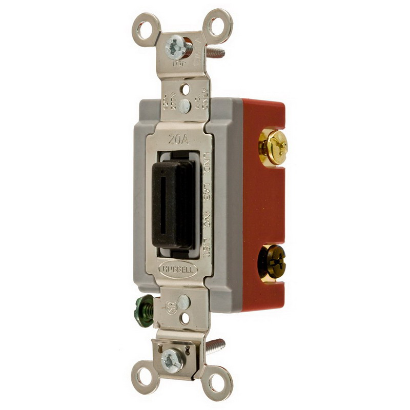 Hubbell Wiring Devicekellems Wall Switchtogglemomentaryivory