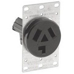 Leviton 220v Outlet Wiring Diagram Murray Lawn Mower Solenoid 30 Amp 250 Volt Receptacle | Get Free Image About