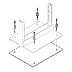Cooper B-Line SB254101 Equipment Rack Isolation Kit