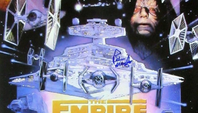empire strikes back poster signed