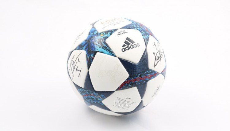 UEFA Champions League Matchball, Cardiff Final 2017 ...