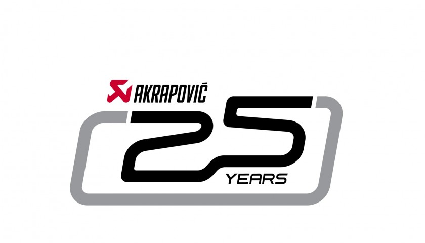 25th Anniversary Limited edition 15/25 Akrapovič exhaust