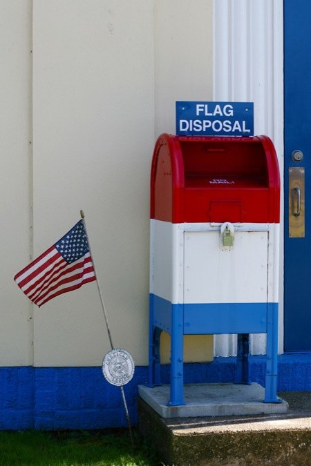 flag-disposal
