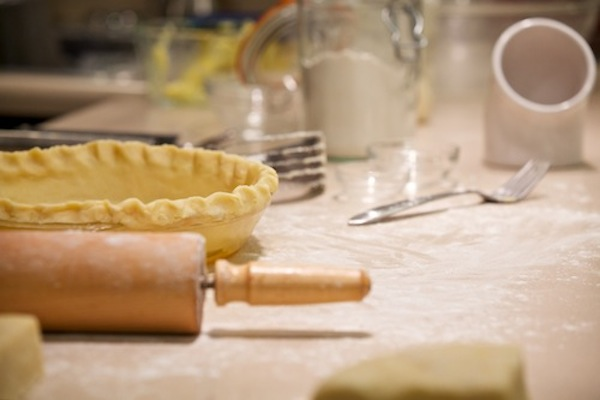 making pie crust