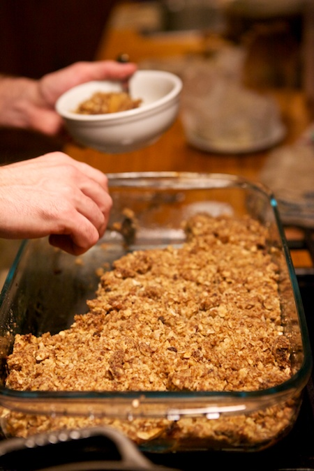 Brians apple crumble
