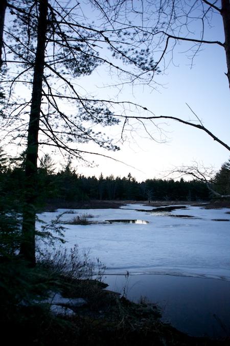 hiking at dusk 4