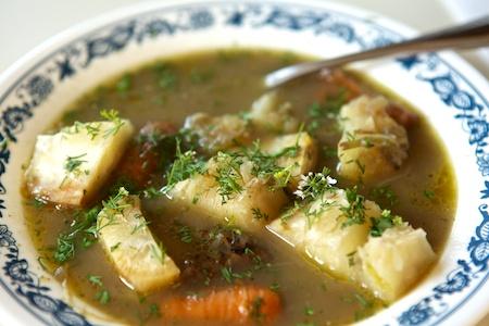 breakfast soup small
