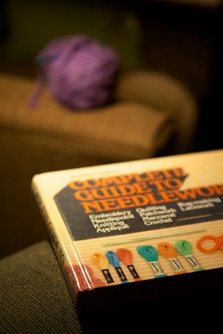 crocheting 1