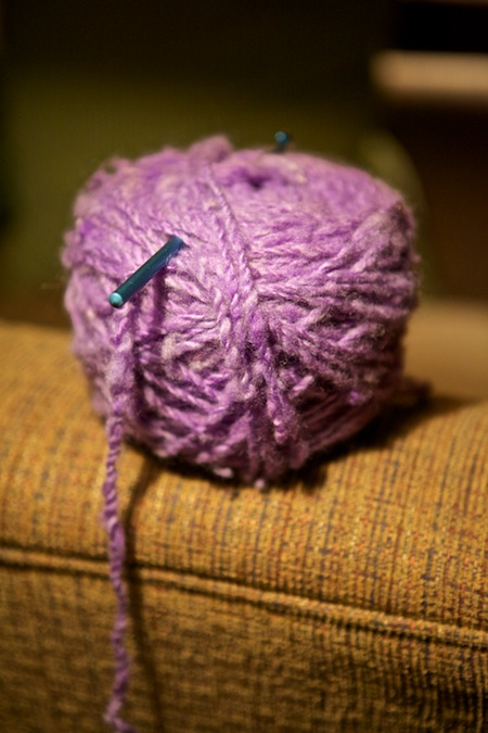 crocheting 2