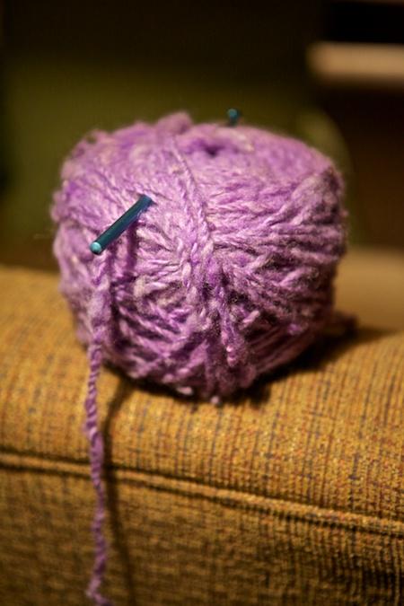 crocheting 2