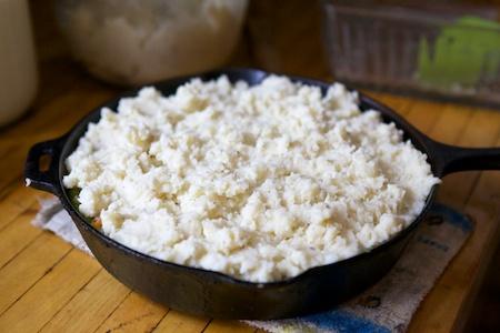 Making Shepherds pie 6