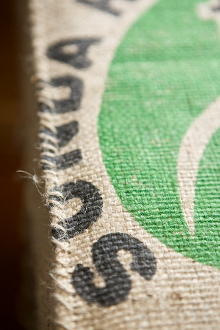 coffee bag covered box spring 5