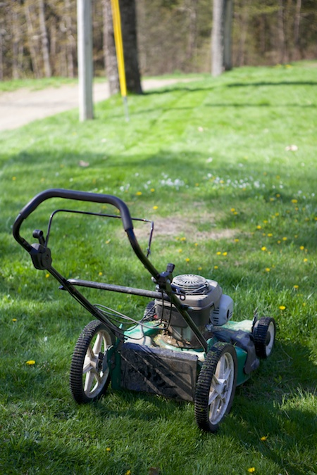push mower