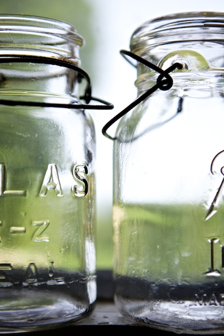old canning jars 1