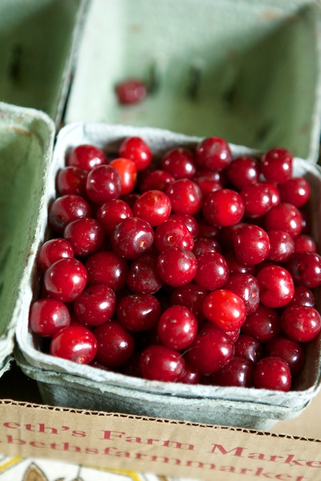 sour cherries 1