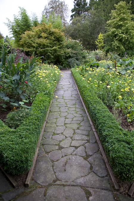 Heronswood formal garden 7