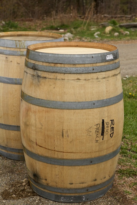 wine barrels for rain barrels 2