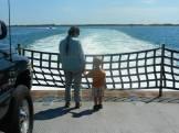 Ferry to Okracoke (Photo by Walter)