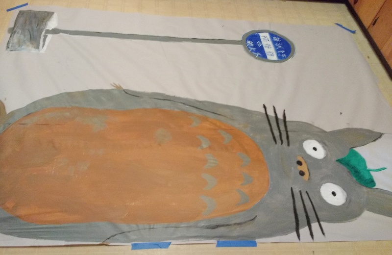 Totoro in progress