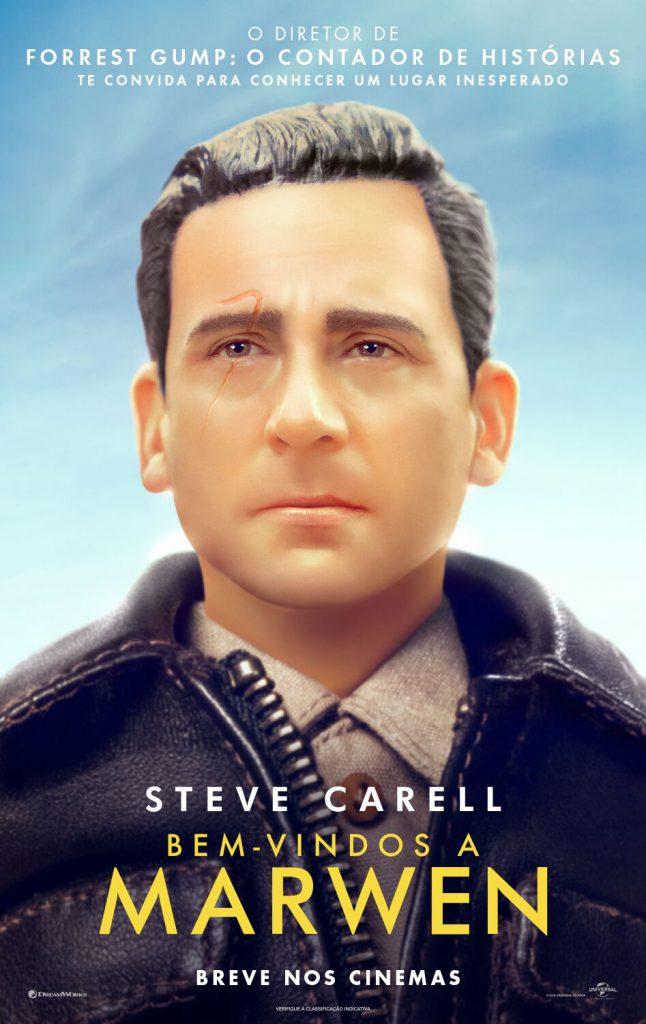 """WTM_INTL_DGTL_1_SHT_BRA_preview-646x1024 Steve Carell protagoniza """"Bem-vindos à Marwen"""", drama baseado em história real dirigido por Robert Zemeckis"""