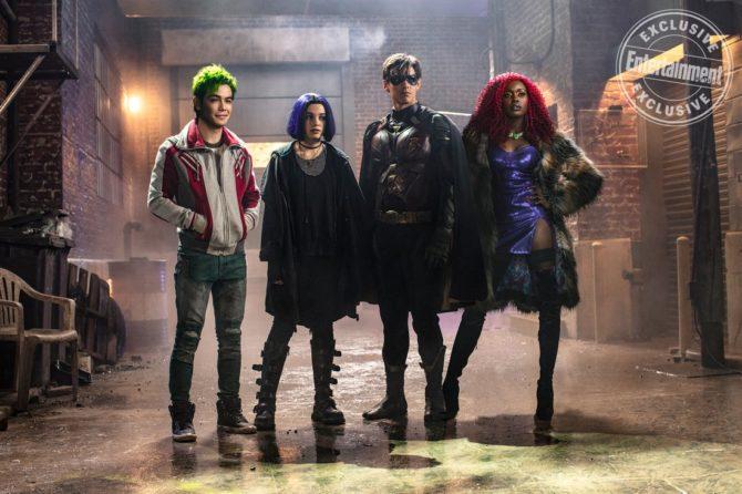 titas Titãs | Divulgada foto da equipe e detalhes sobre a nova série da DC