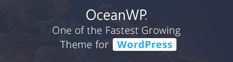 OceanWP Banner