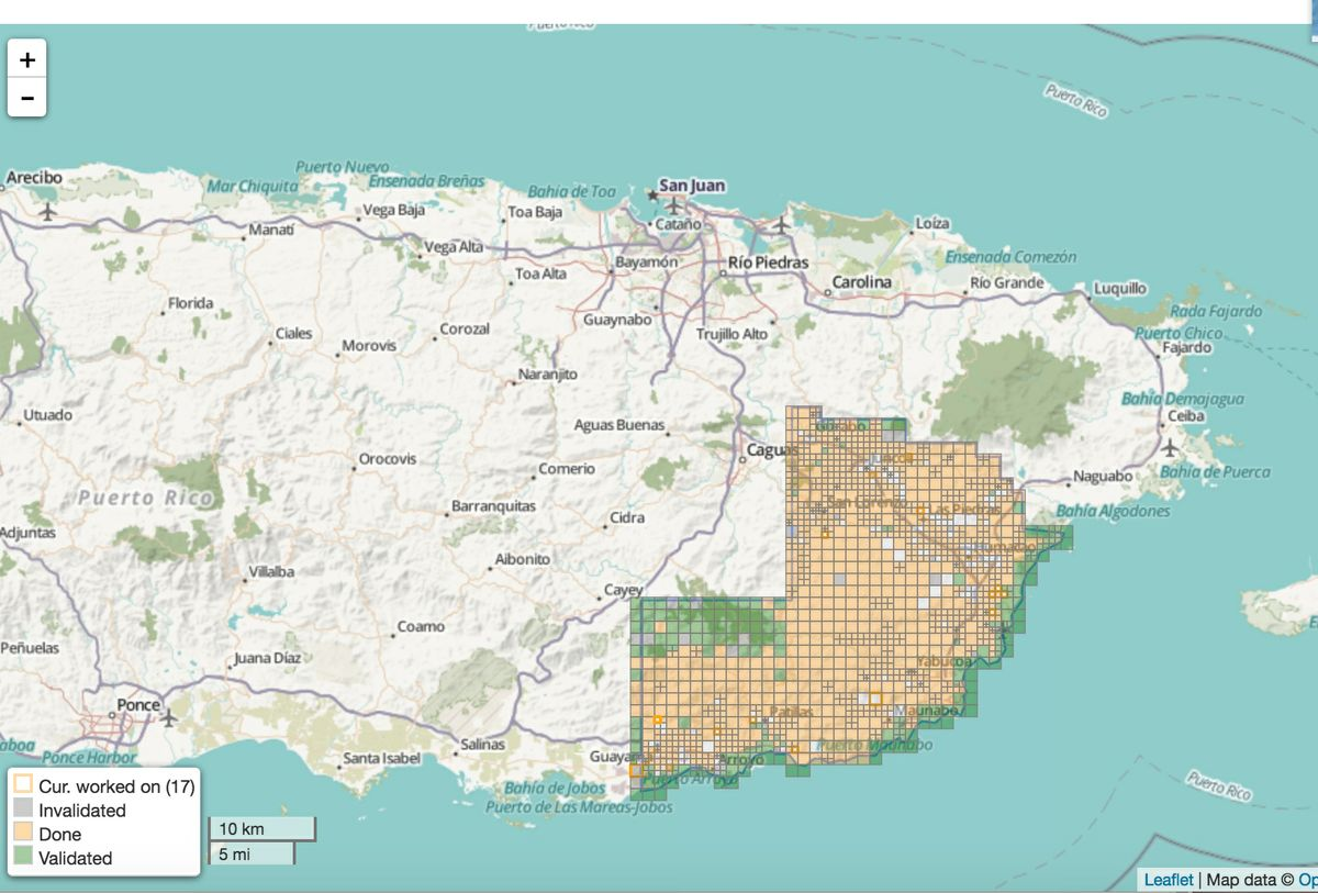 Oct 5 Help Build Maps For Puerto Rico Hurricane Relief