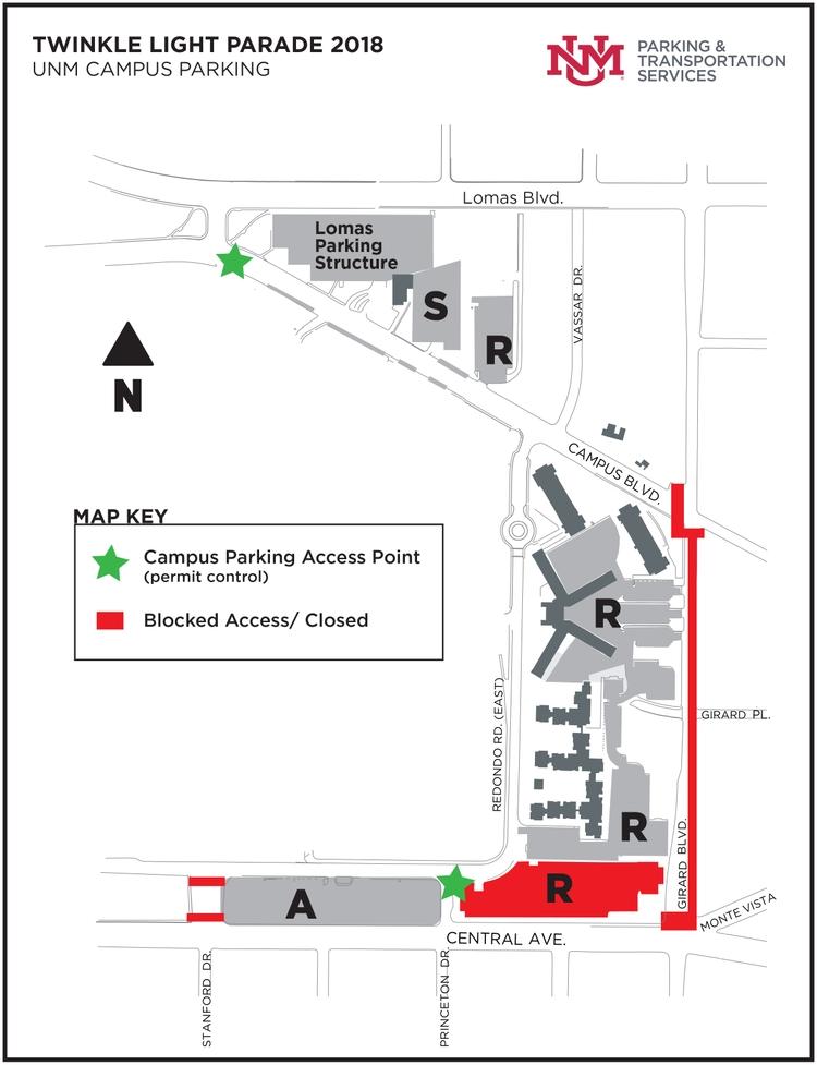 Heavy traffic notice for UNM main campus: UNM Newsroom